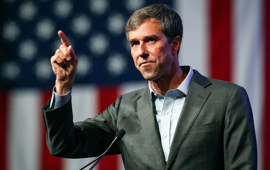 Beto O'Rourke at Texas Democratic Conventions