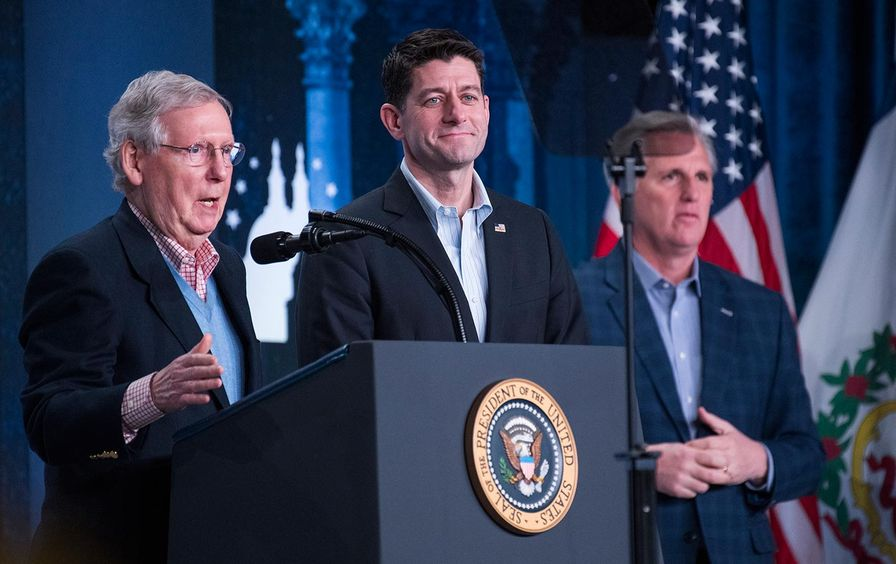 Mitch McConnell, Paul Ryan, and Kevin McCarthy