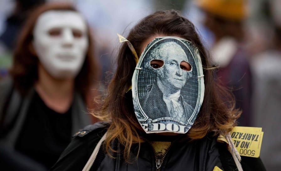 Protest Against IMF in Argentina