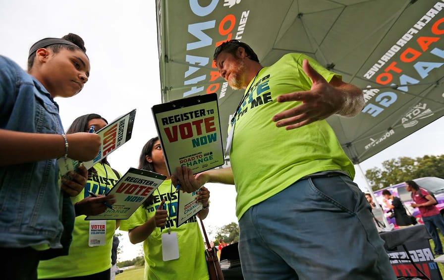 Florida voter registration