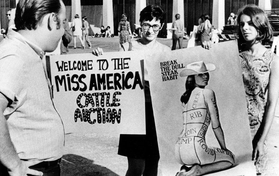 Miss America Protest New Jersey 1968