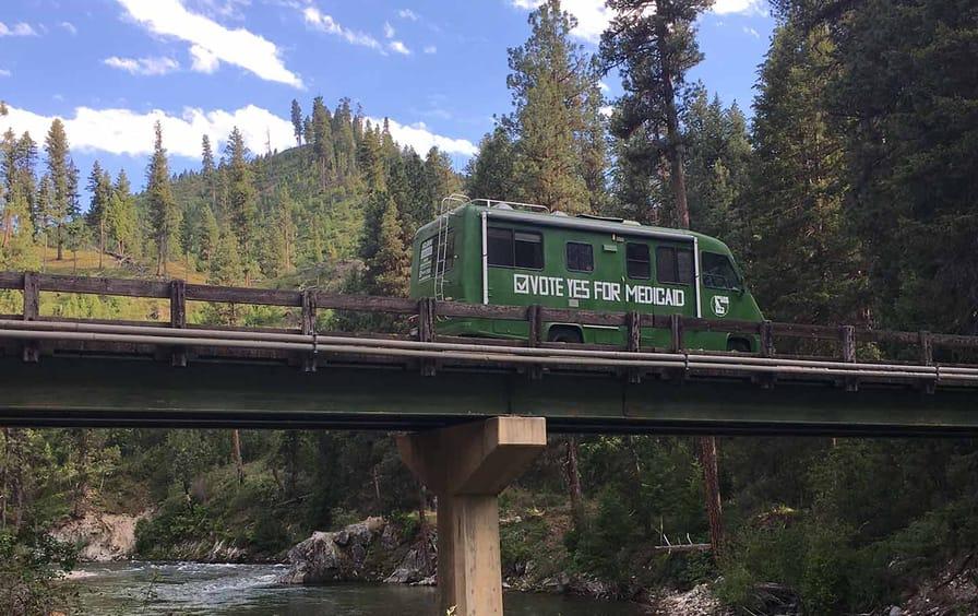 Yes for Medicaid camper van (alt crop)