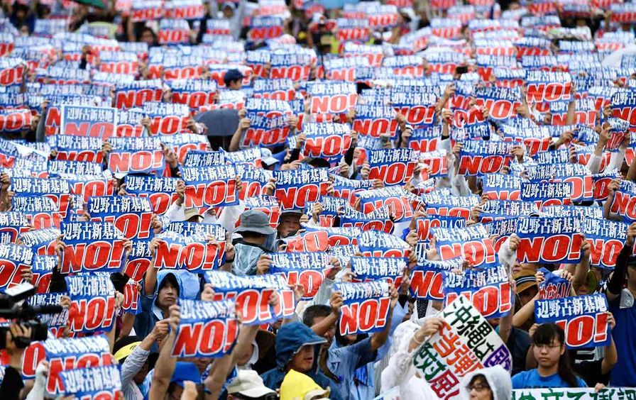 Okinawa Base Protests