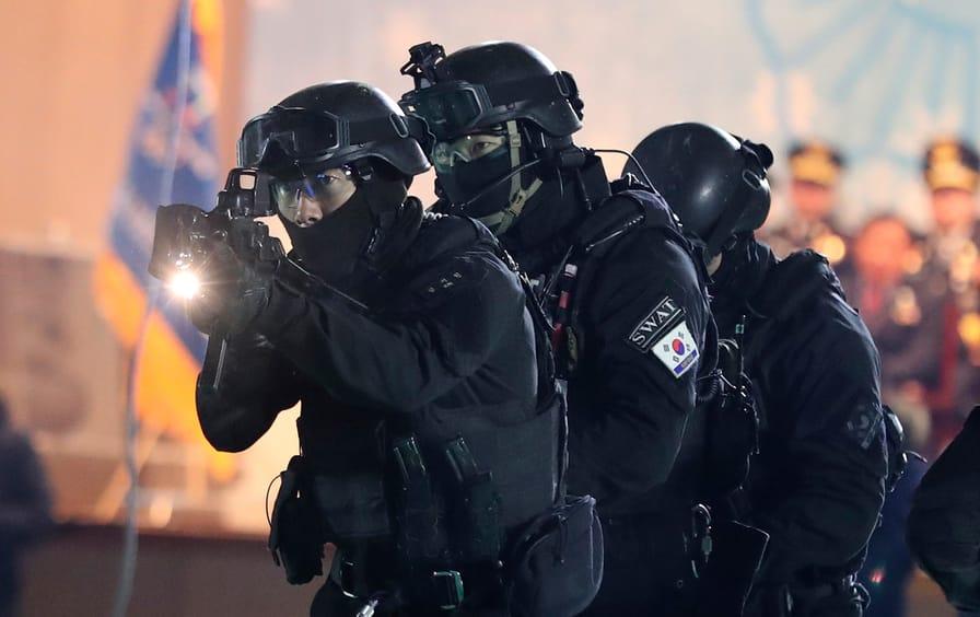 South Korea Terror Drill