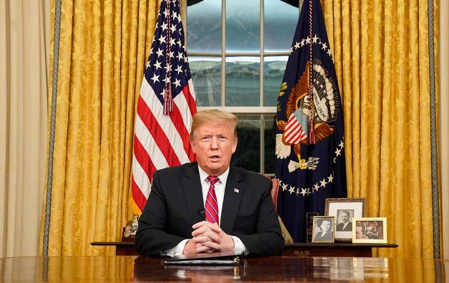 Trump Oval Office address