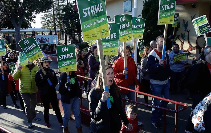 Oakland Teachers on Strike