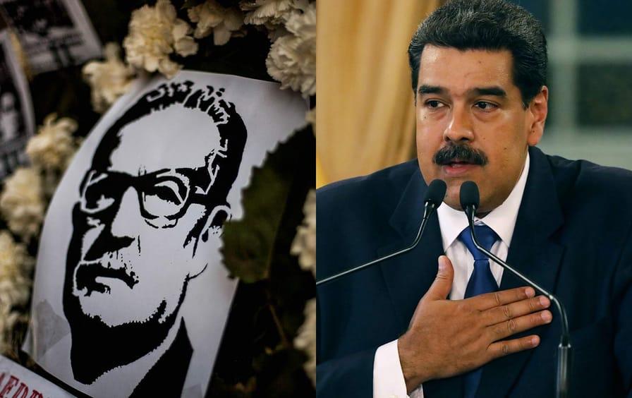 Allende and Maduro