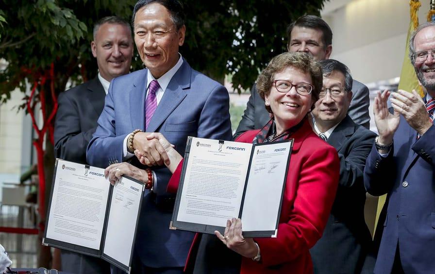 Foxconn Madison Agreement