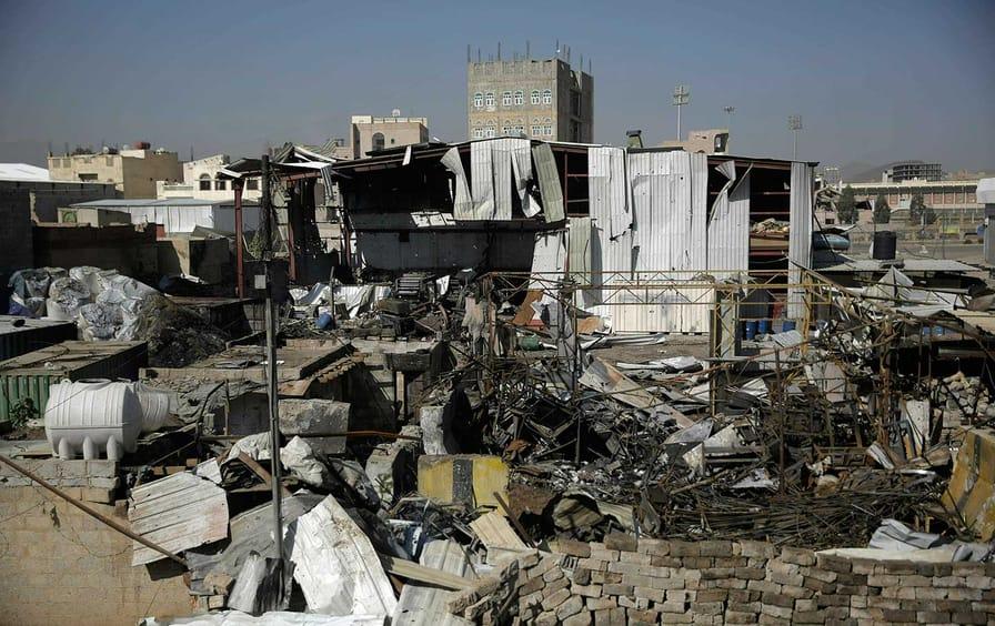 Trump's Yemen veto