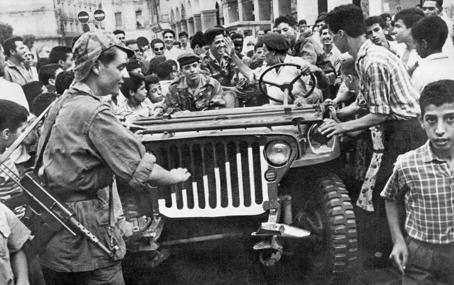 ALGERIA INDEPENDENCE 1962