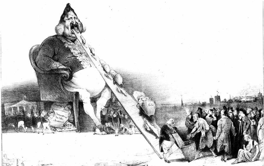 Honore Daumier's Gargantua