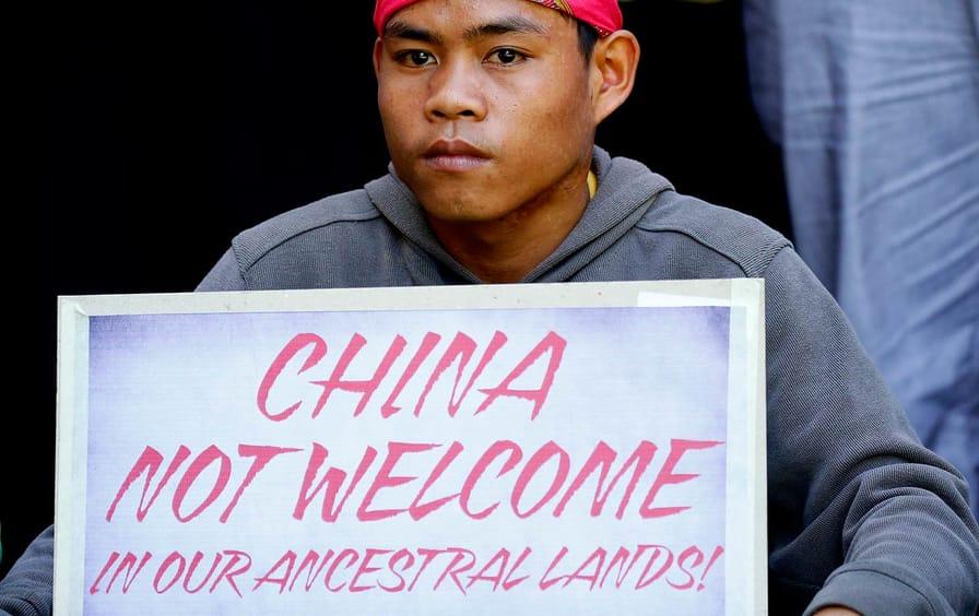Philippines Indigenous Protestor