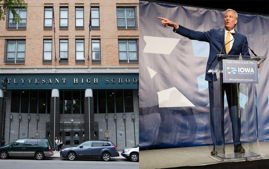 Stuyvesant High School/Bill de Blasio