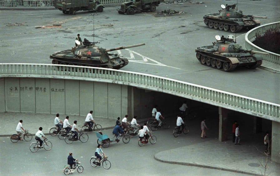 Beijing, after the Tiananmen Square massacre