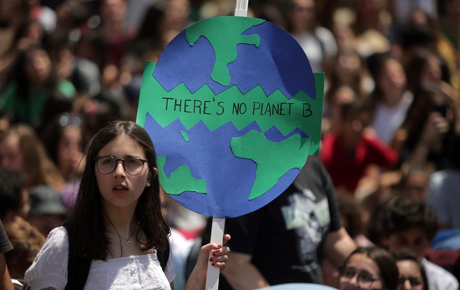 Portugal youth climate strike