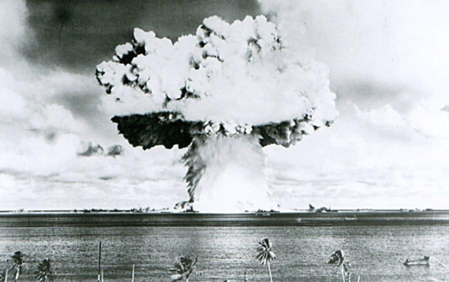 Marshall Islands Mushroom Cloud