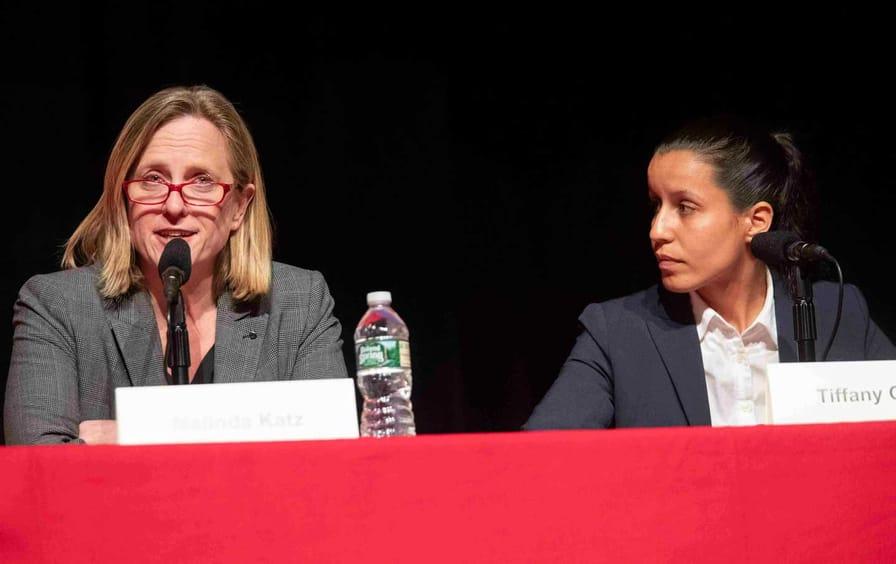 Tiffany Cabana and Melinda Katz