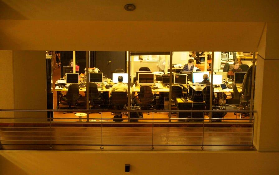 Newsroom.