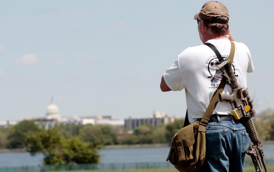 guns second amendment us capitol