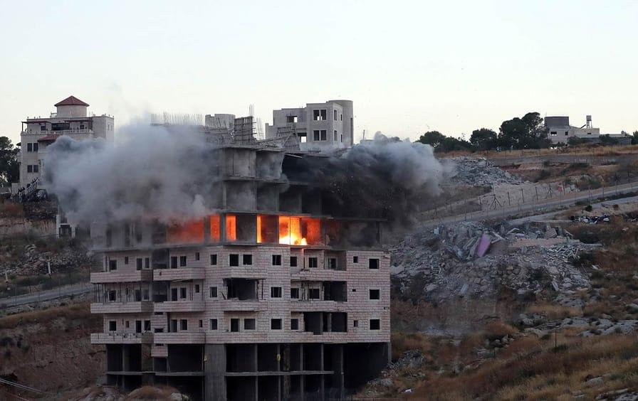 Palestine Demolitions Israel