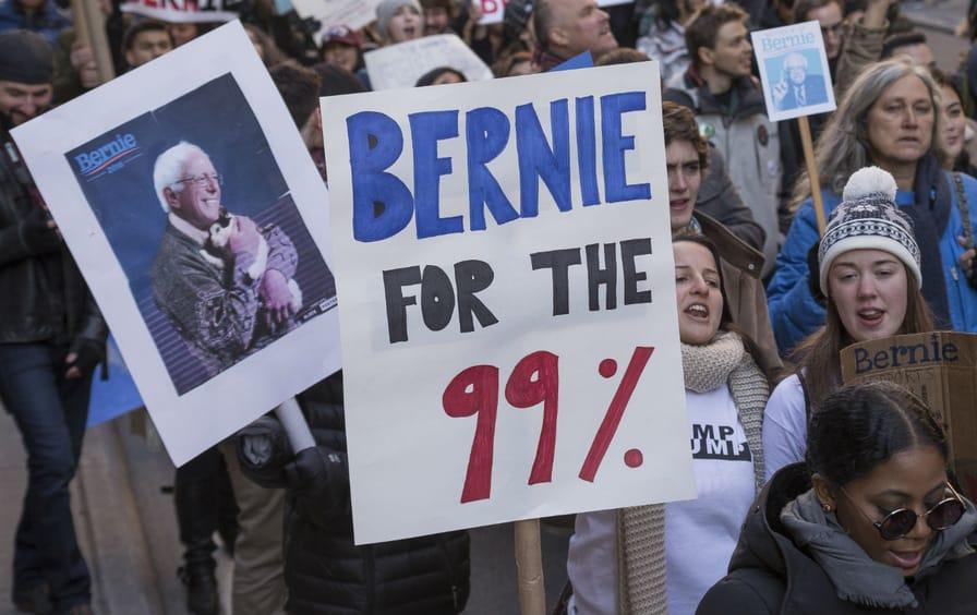 99% for Bernie