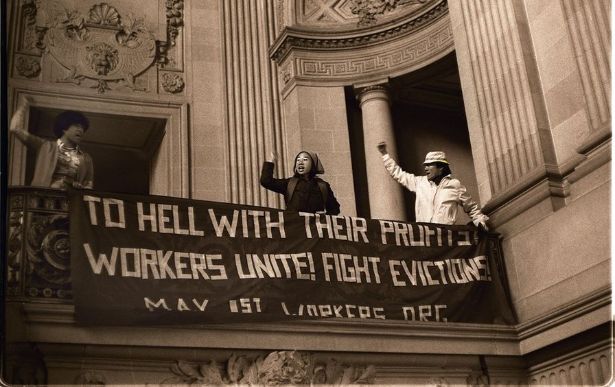 Protest_at_San_Francisco's_CITY_Hall_by_supporters_of_the_International_Hotel,_1977