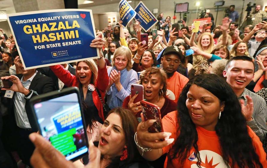 Virginia State Election Celebration