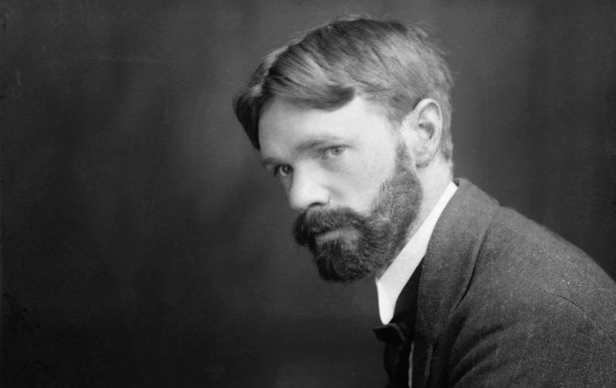 Novelist D.H. Lawrence