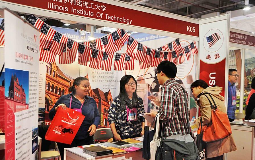 USA universities China