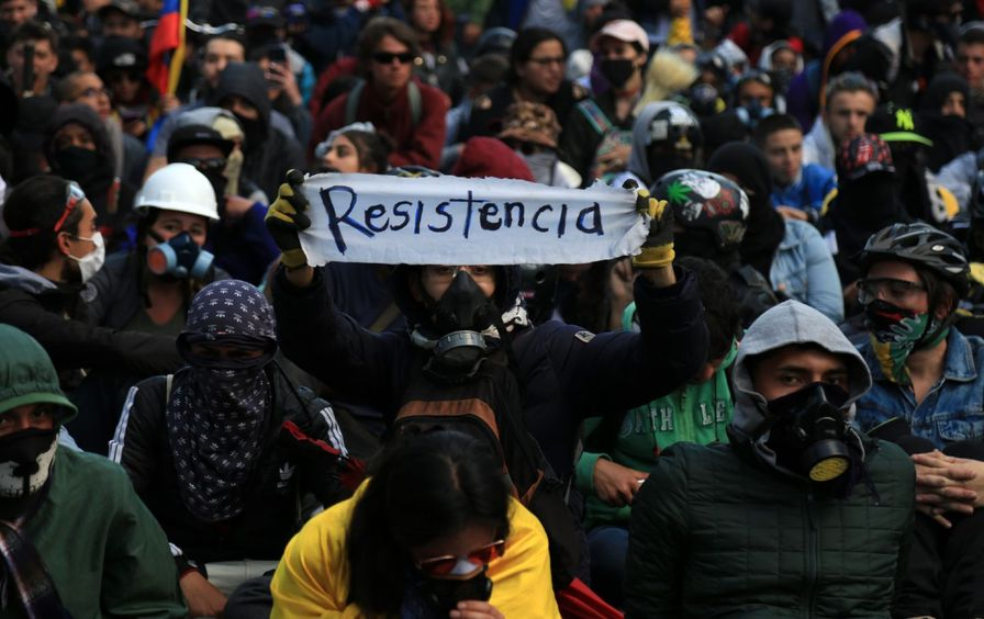 Colombia national strike