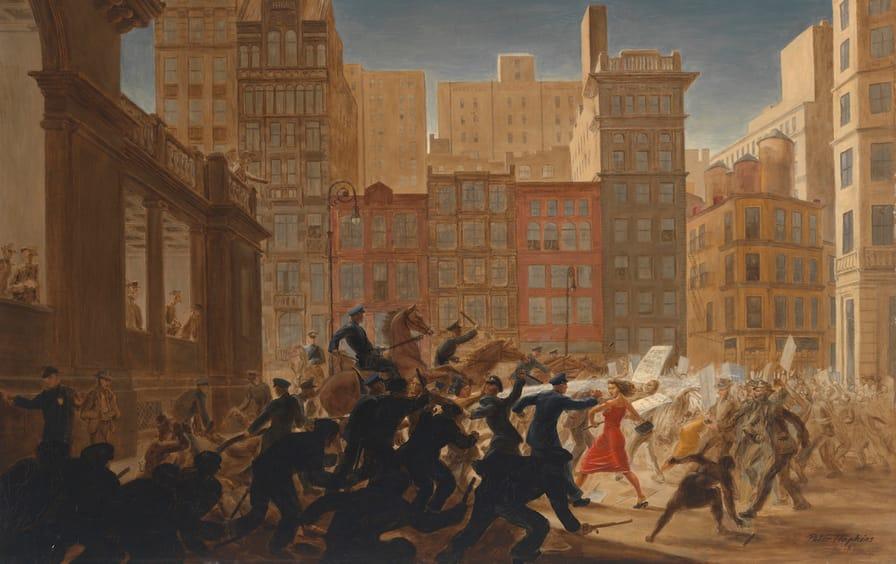 Riot at Union Square