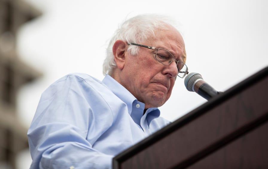 Sanders speaks at LA Rally