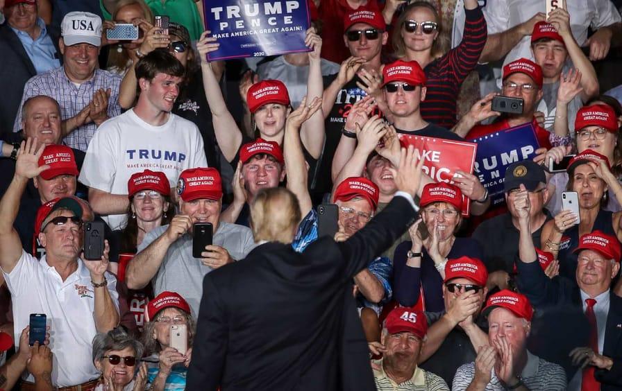 Trump rally in central Pennsylvania