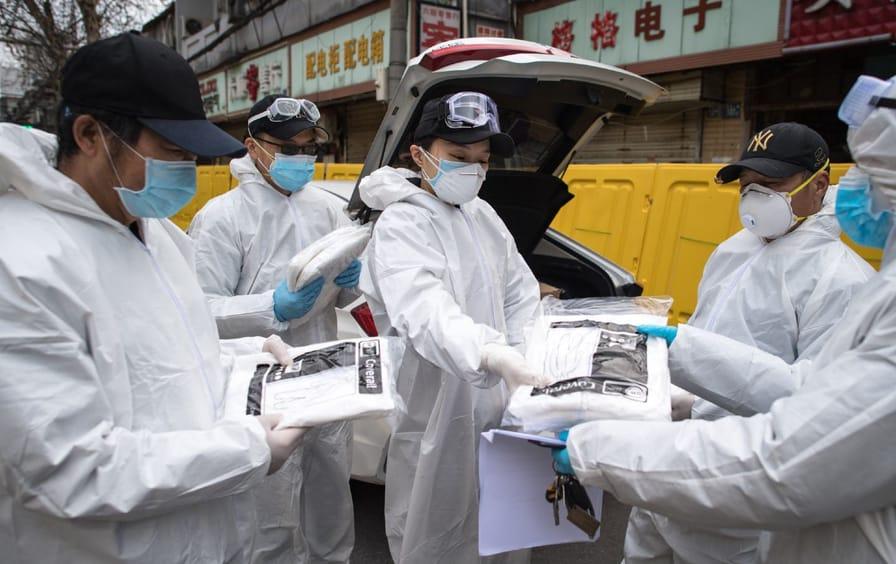 Wuhan volunteers