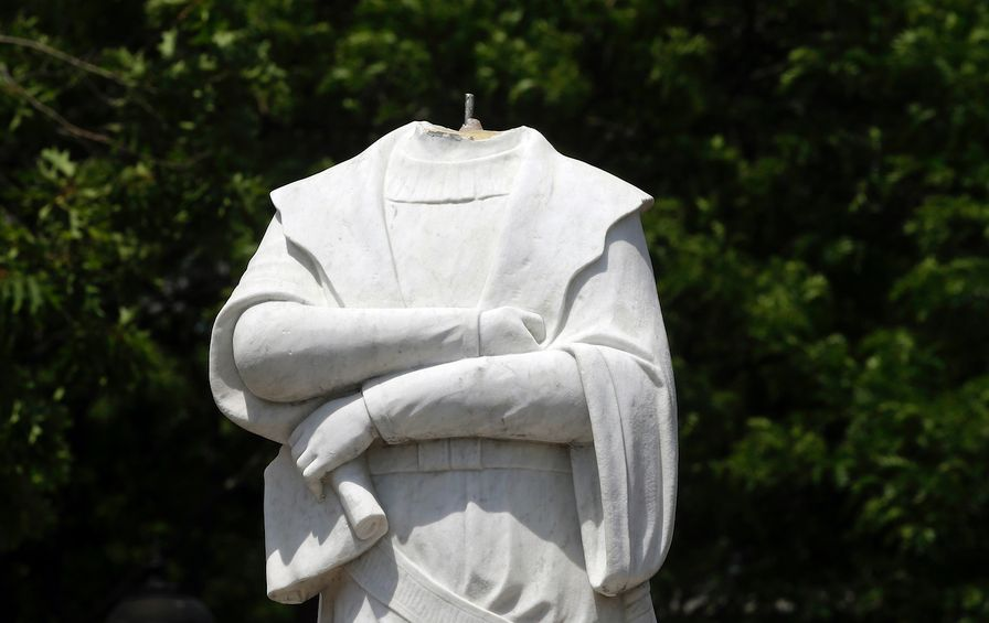 Protests Contested Statues
