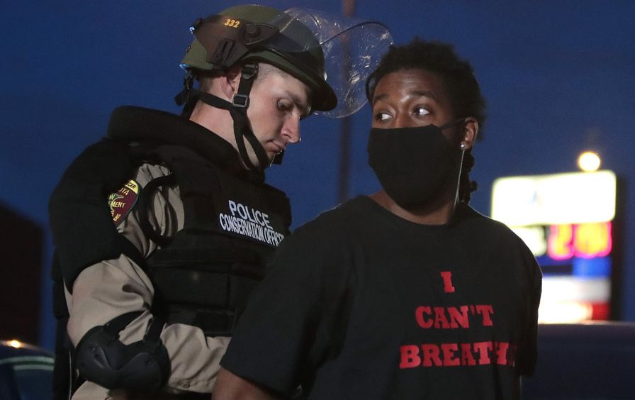 cops-arrest-minneapolis-protester-gty-img