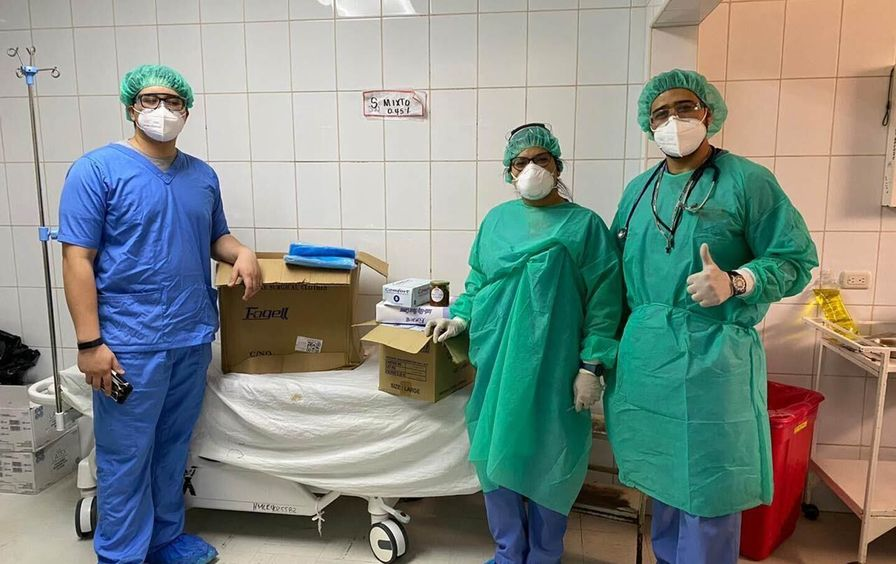unidos-por-honduras-medical-workers-with-supplies-img-1