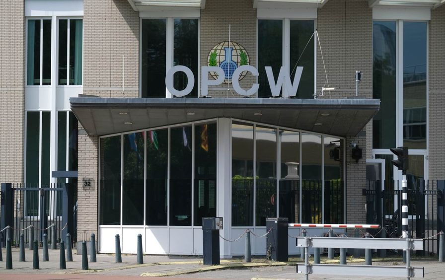 Logo and Exterior for OPCW Headquarters