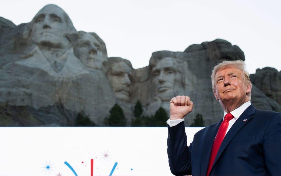 Trump at Mt. Rushmore
