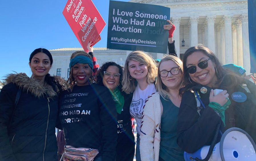 We Testify abortion storytellers