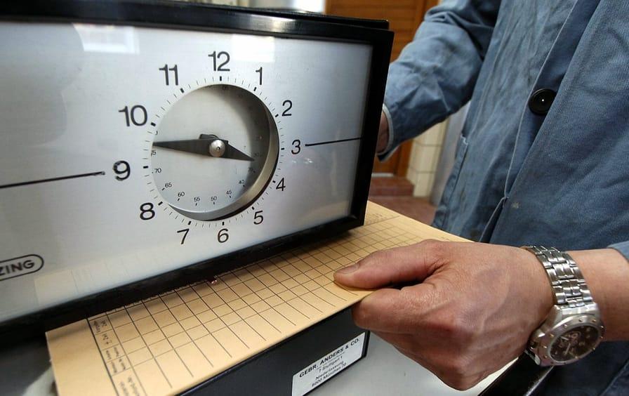 Punching the clock