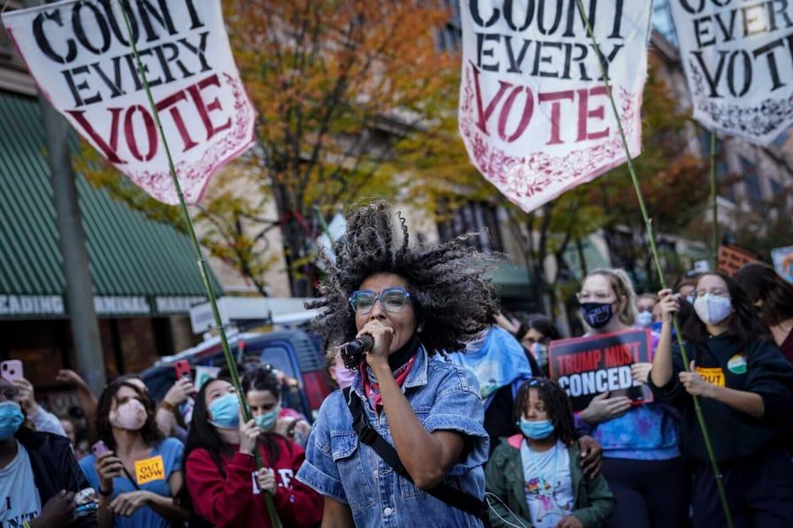 Election 2020 Protests Philadelphia