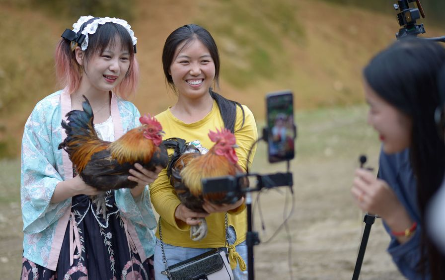 CHINA-GUIZHOU-TIANZHU-COVID-19-CHICKEN FARMING (CN)