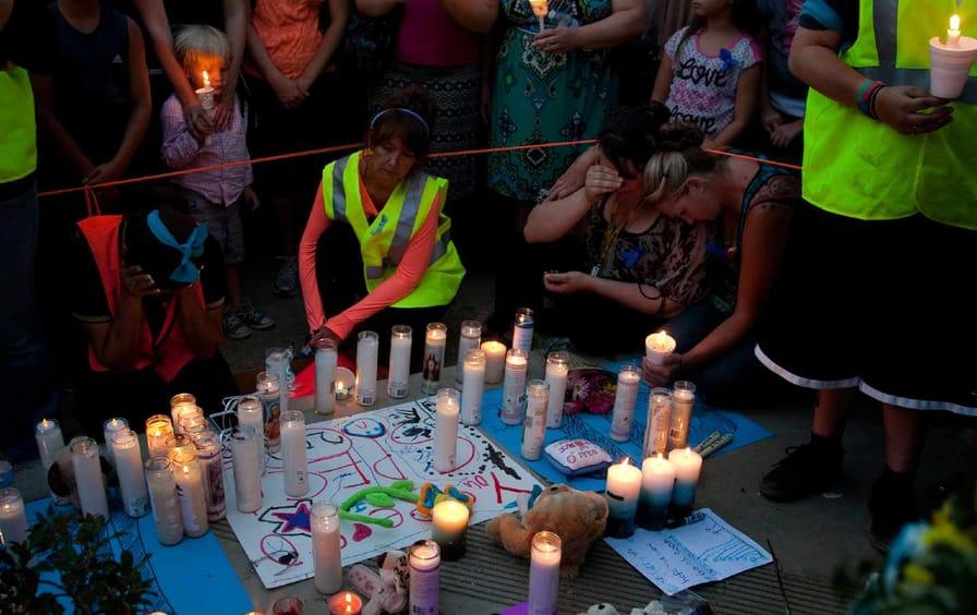 Terry Dewayne Smith vigil