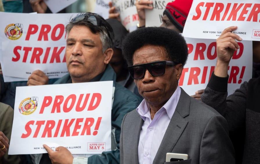 Uber Lyft Drivers Strike