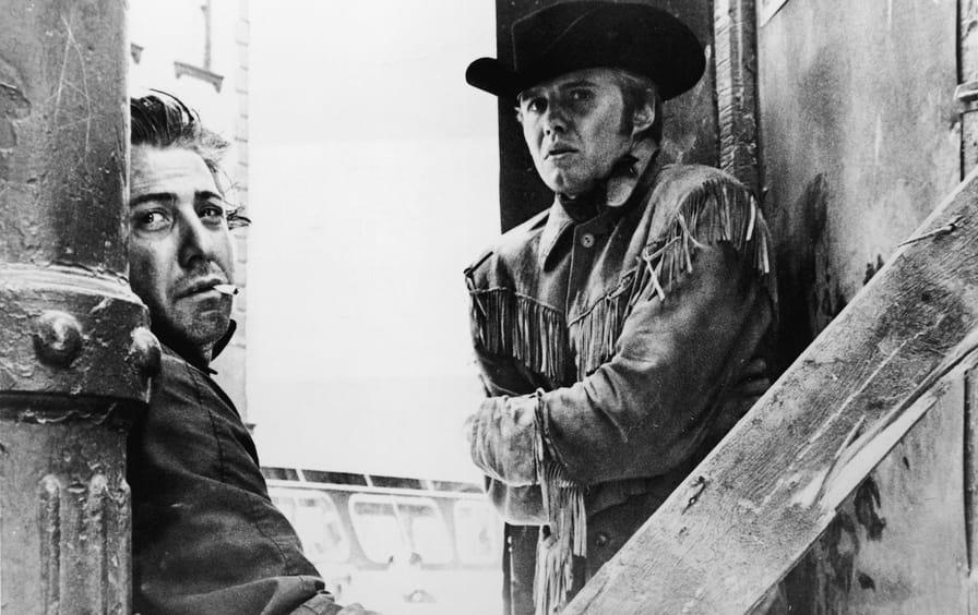 Dustin Hoffman And Jon Voight In 'Midnight Cowboy'