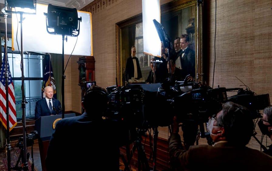 President Joe Biden Afghanistan Announcement
