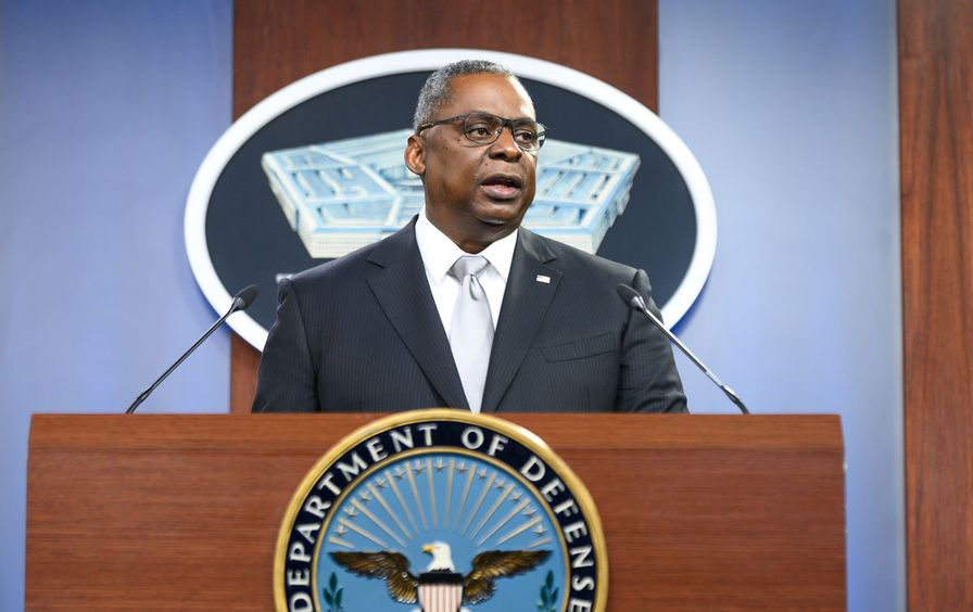 Defense Secretary Lloyd Austin