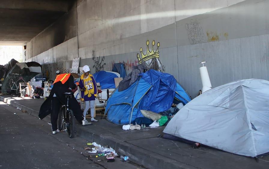 Los Angeles homeless encampment
