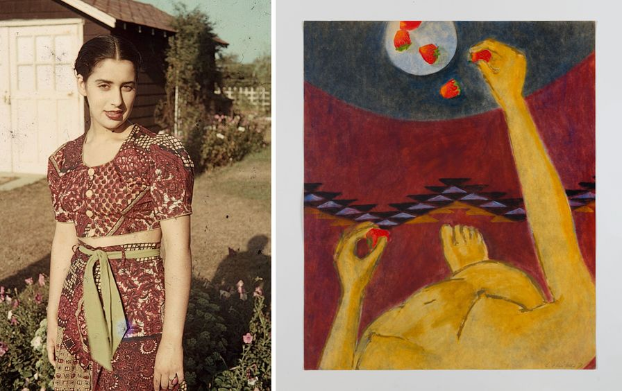 Luchita Hurtado, 1940 / Untitled (1971) Courtesy The Estate of Luchita Hurtado and Hauser & Wirth